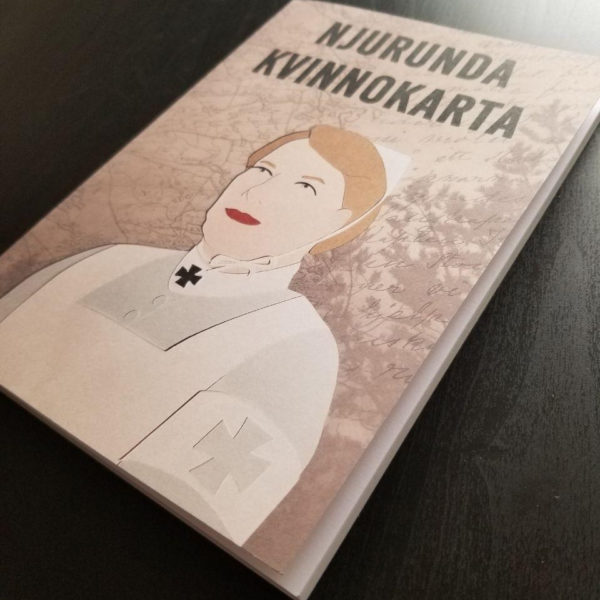 "Women in the forefront for the Swedish local history project ""Njurunda Kvinnokarta"". Cover, layout, illustrations, photo restorations and photo editing done by me."